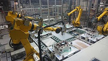 DNP田村プラスチックのロボットシステム